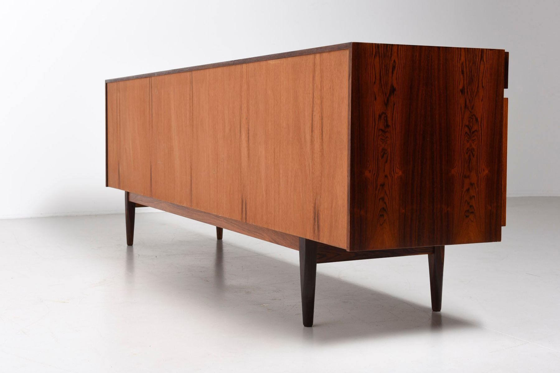 mid century fa66 sideboard by ib kofod larsen for faarup m belfabrik for sale at pamono. Black Bedroom Furniture Sets. Home Design Ideas