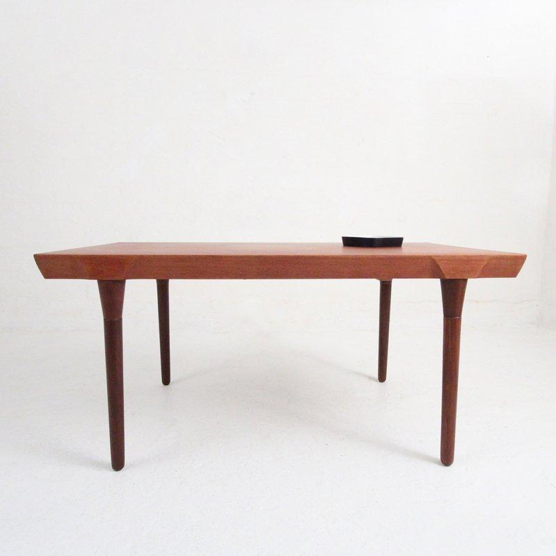 Large Mid Century Teak Dining Table for sale at Pamono : large mid century teak dining table 1 from www.pamono.com size 799 x 800 jpeg 21kB