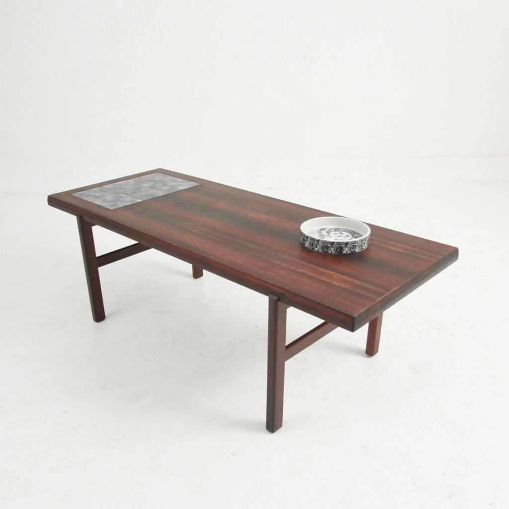 Mid Century Ah 20 Rosewood Coffee Table From Arrebo M Bler For Sale At Pamono
