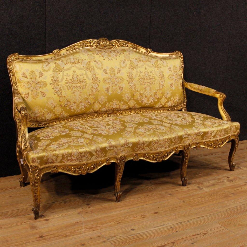 Antique French Sofas Louis Xv Sofa Settee
