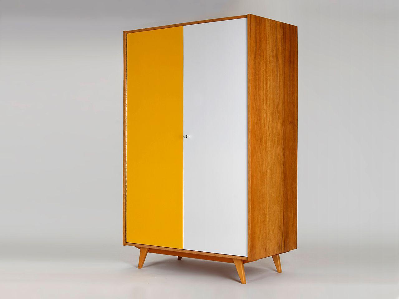 Kleiderschrank designklassiker  Schrank von Jiri Jiroutek für Interier Praha, 1960er bei Pamono kaufen