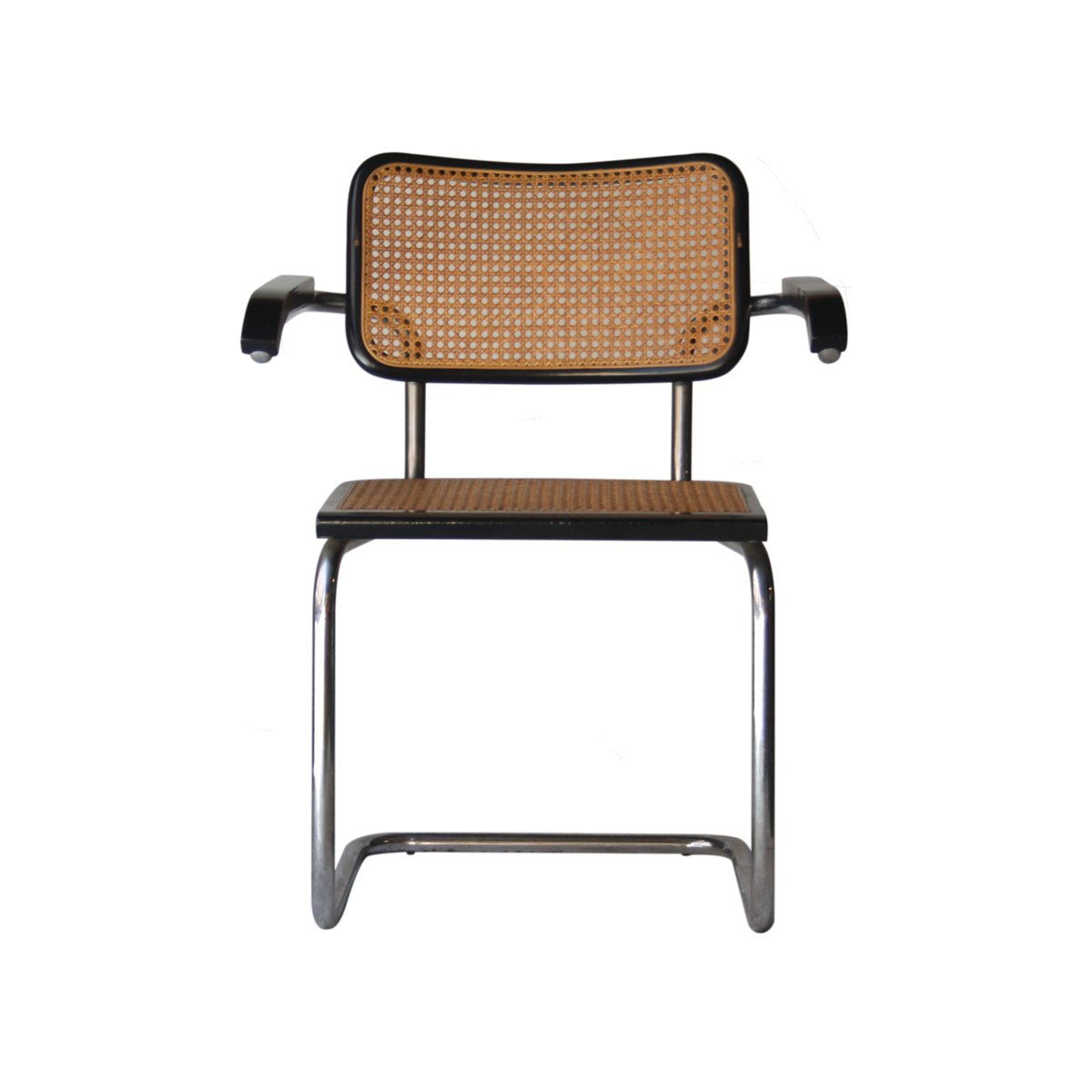 Italian Cesca B64 Chairs By Marcel Breuer For Gavina, 1962, Set Of 5