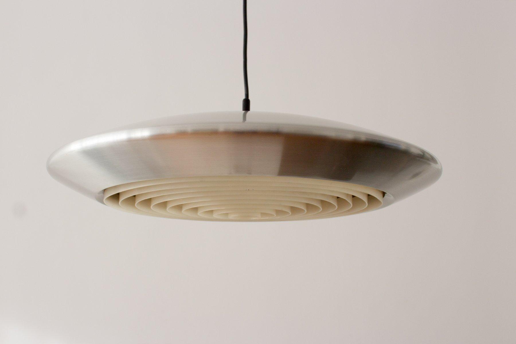 d nische mid century diskos lampe von johannes hammerborg f r fog m rup 1960er bei pamono kaufen. Black Bedroom Furniture Sets. Home Design Ideas