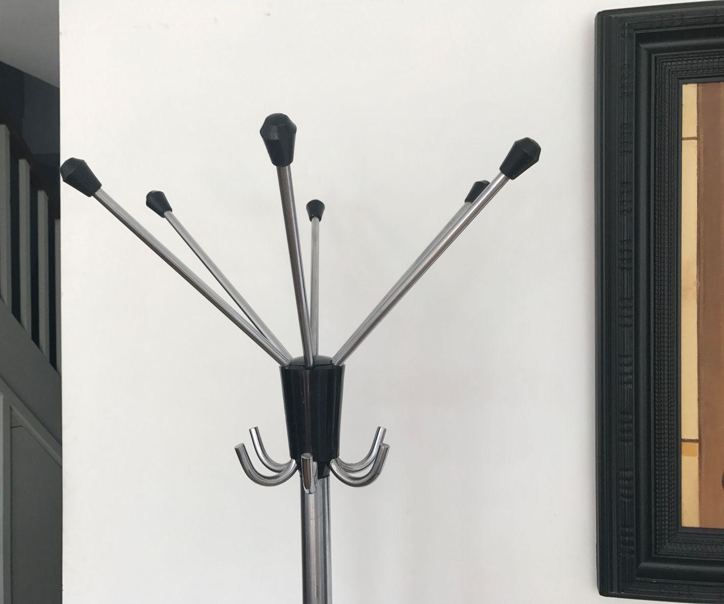 mid century garderobe mit haken bei pamono kaufen. Black Bedroom Furniture Sets. Home Design Ideas
