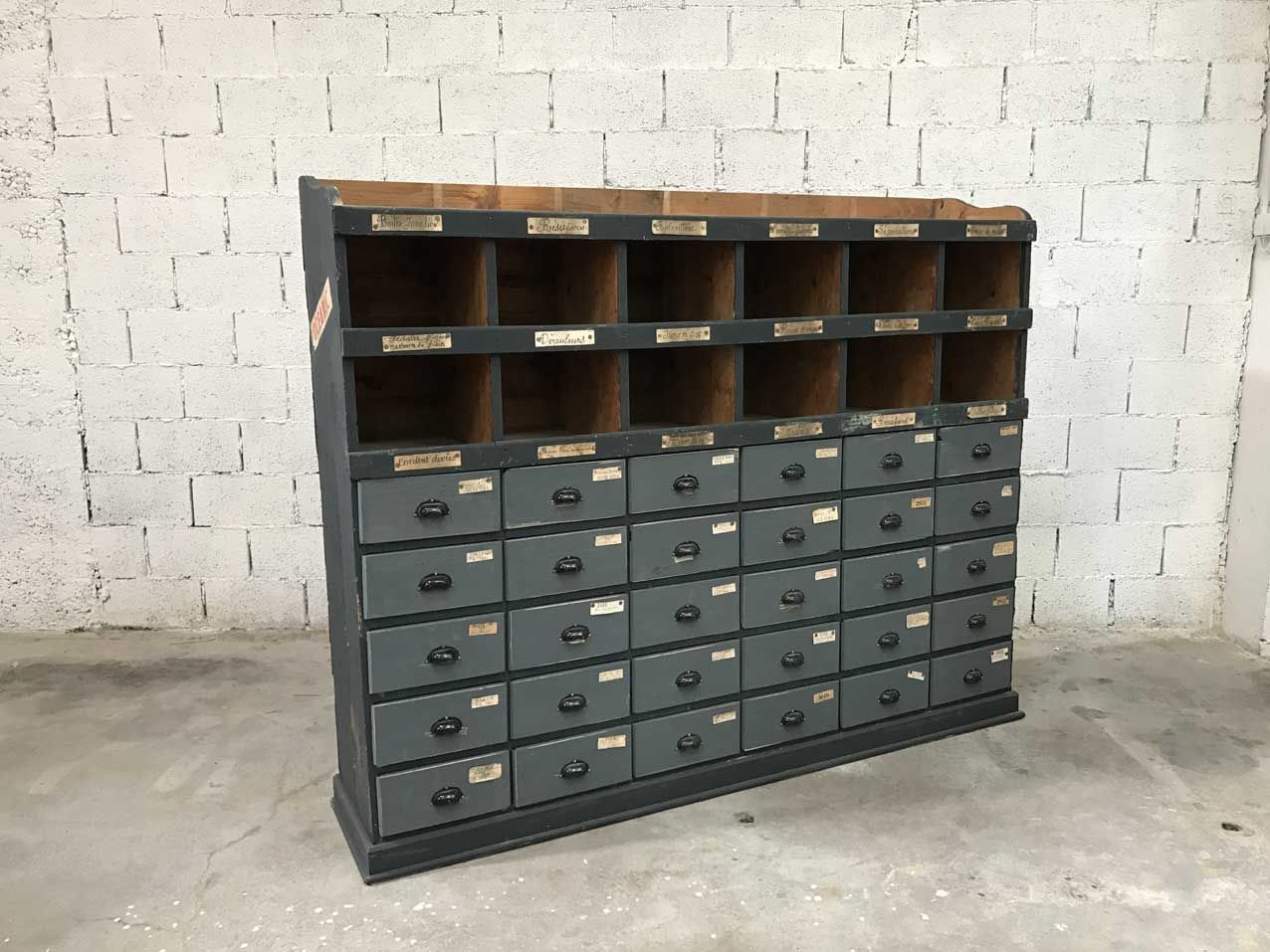 Wooden craft cabinet with drawers s for sale at pamono