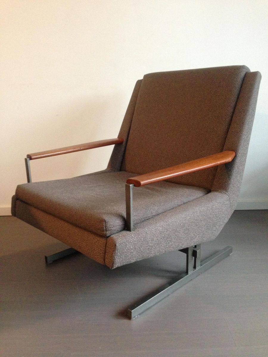 Dutch lounge chair from gelderland 1960s for sale at pamono for Dutch design chair uk