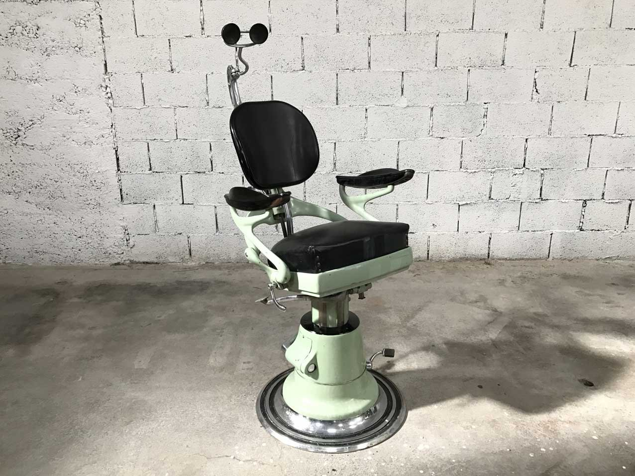 dentist 39 s armchair for corno 1950s for sale at pamono. Black Bedroom Furniture Sets. Home Design Ideas