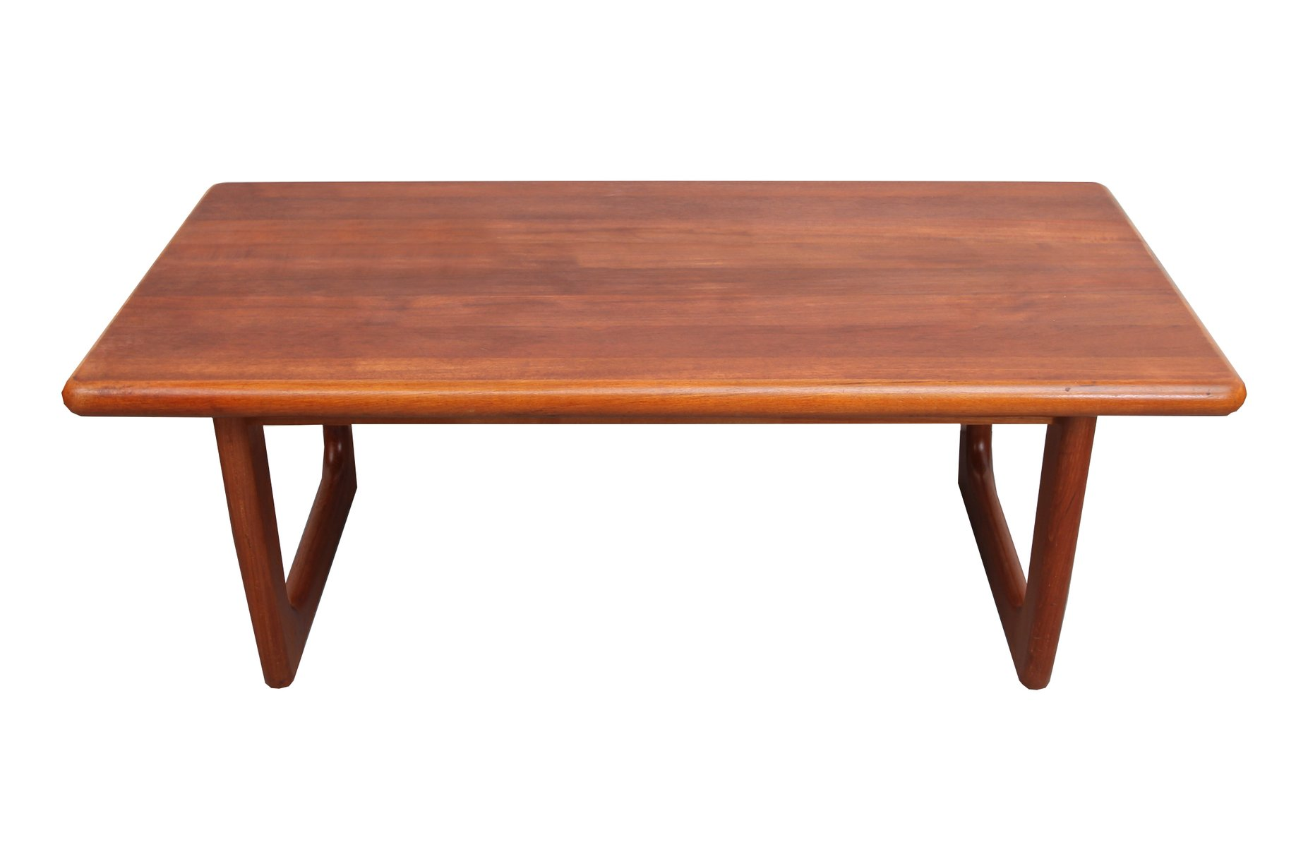Danish Teak Coffee Table From Niels Bach 1960s For Sale At Pamono