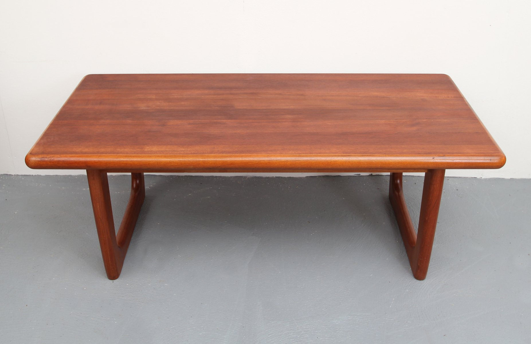 Captivating Danish Teak Coffee Table From Niels Bach, 1960s