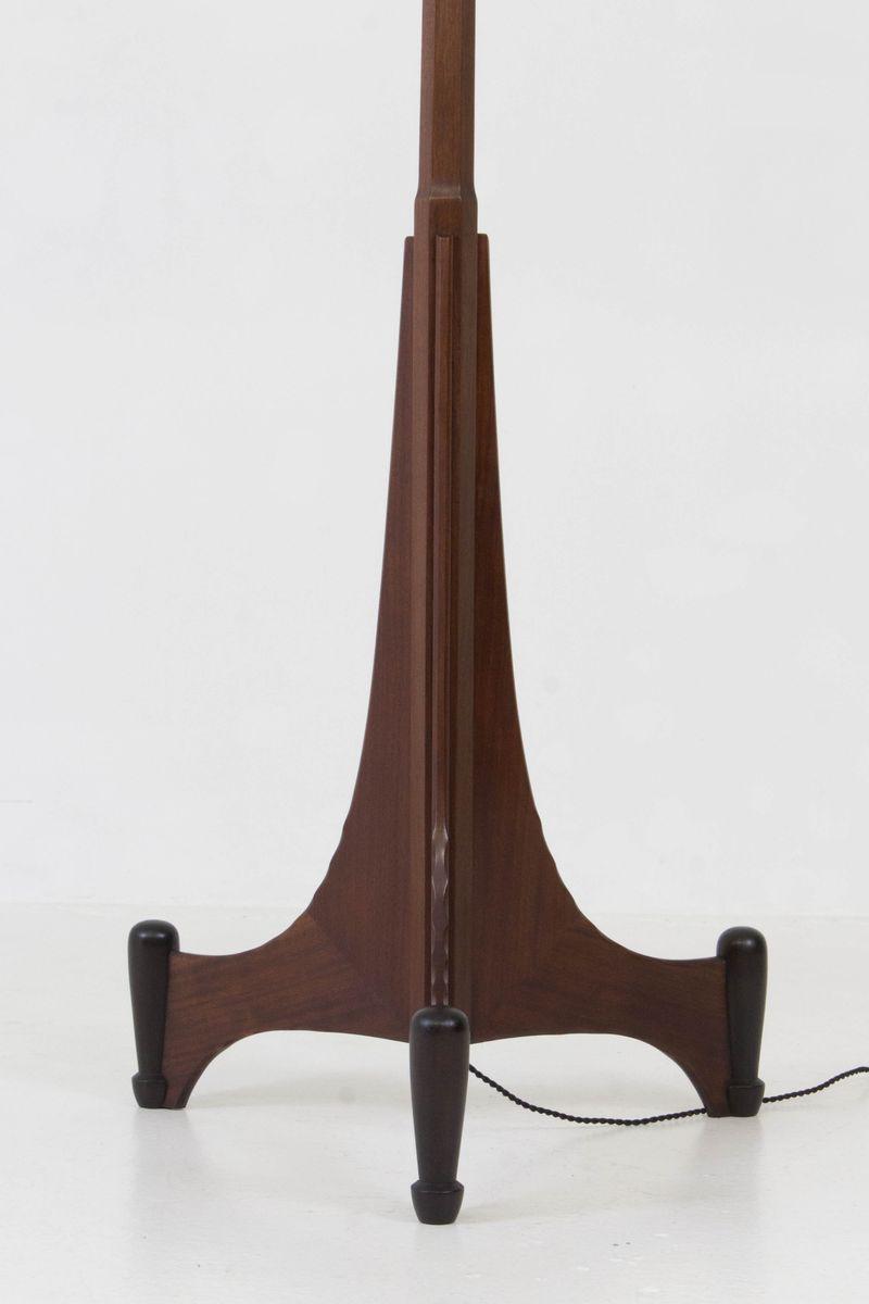 art deco amsterdamer schule stehlampe 1920er bei pamono kaufen. Black Bedroom Furniture Sets. Home Design Ideas
