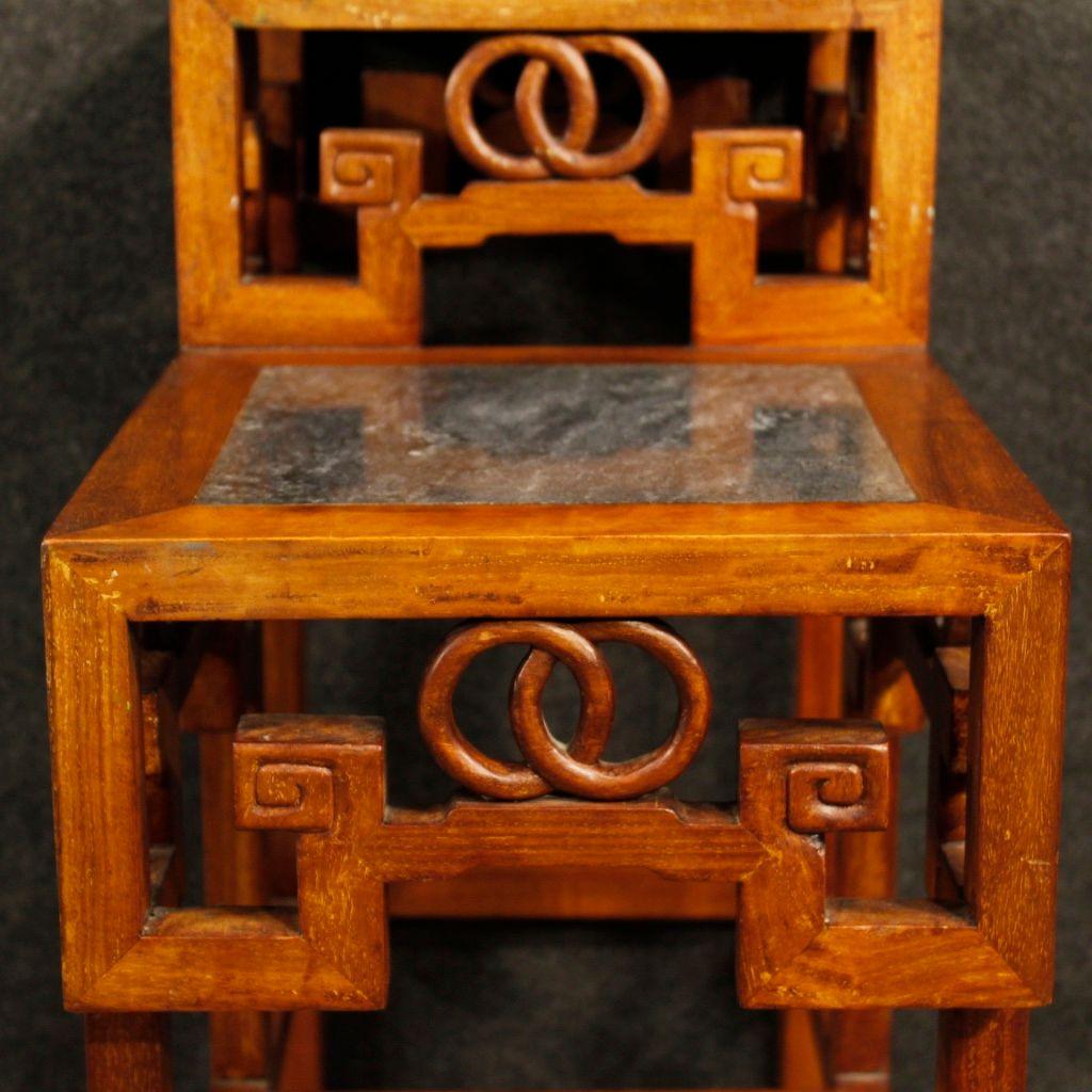 chinesische vintage holz etag re bei pamono kaufen. Black Bedroom Furniture Sets. Home Design Ideas