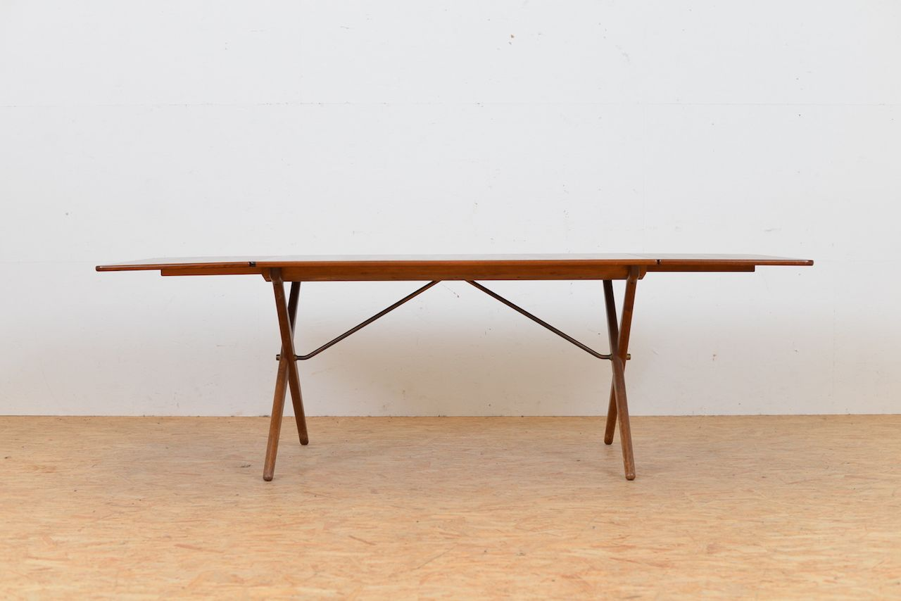 Mid Century AT 309 Drop Leaf Dining Table By Hans J. Wegner For Andreas Tuck