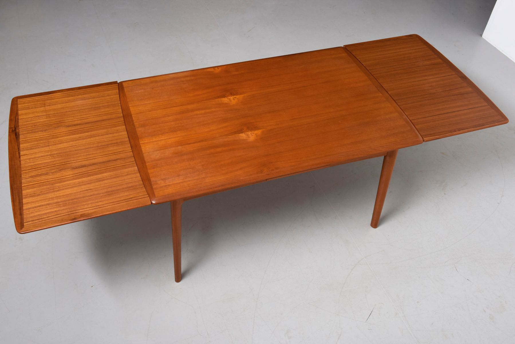 Mid Century Teak Dining Table by Aksel Poul Jensen for C M Madsen