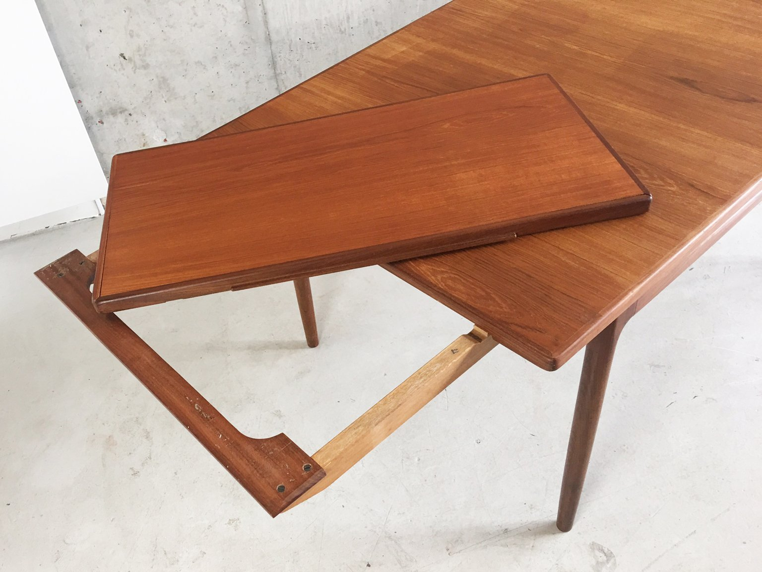 Teak Extendable Dining Table by Ib Kofod Larsen for G Plan  : teak extendable dining table by ib kofod larsen for g plan 1960s 5 from www.pamono.com size 1536 x 1152 jpeg 928kB