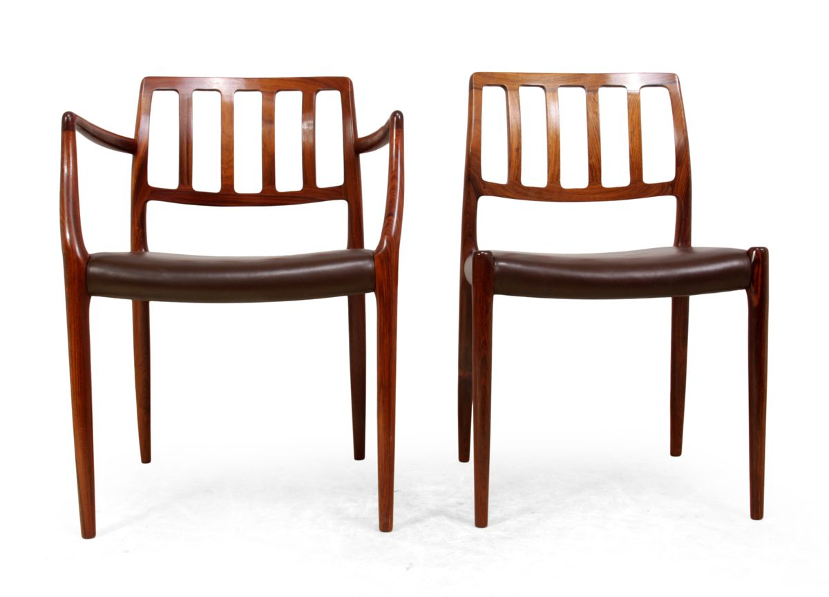 Vintage Model 79 Rosewood Dining Chairs by Niel Otto  : vintage model 79 rosewood dining chairs by niel otto moller set of 8 13 from www.pamono.com size 1200 x 864 jpeg 261kB