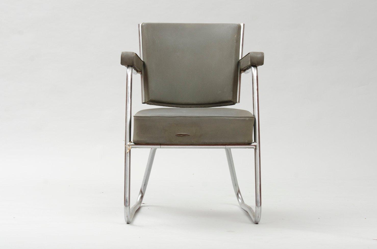 modernistischer vintage schreibtischstuhl bei pamono kaufen. Black Bedroom Furniture Sets. Home Design Ideas