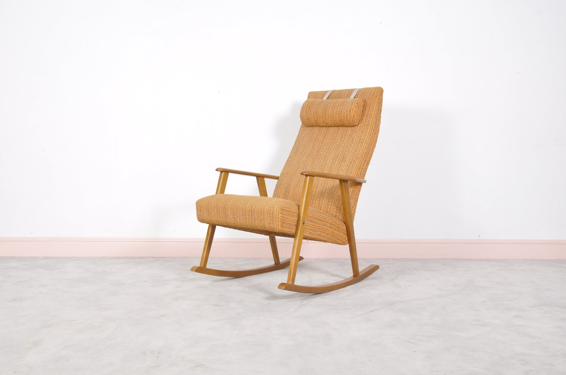 Mid Century Modern Swedish Rocking Chair by Johanson 1960s for