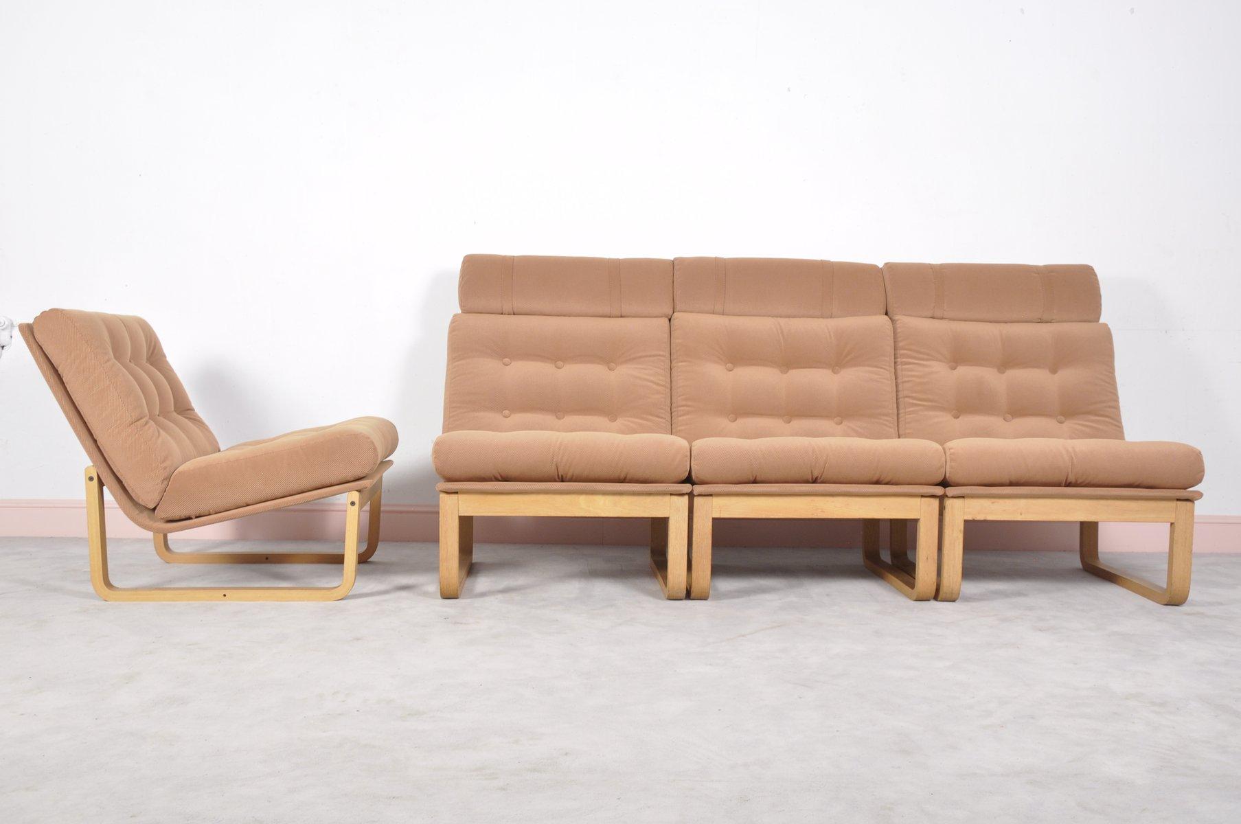 Mid Century Sectional Sofa by Rud Thygesen & Johnny Sorensen for