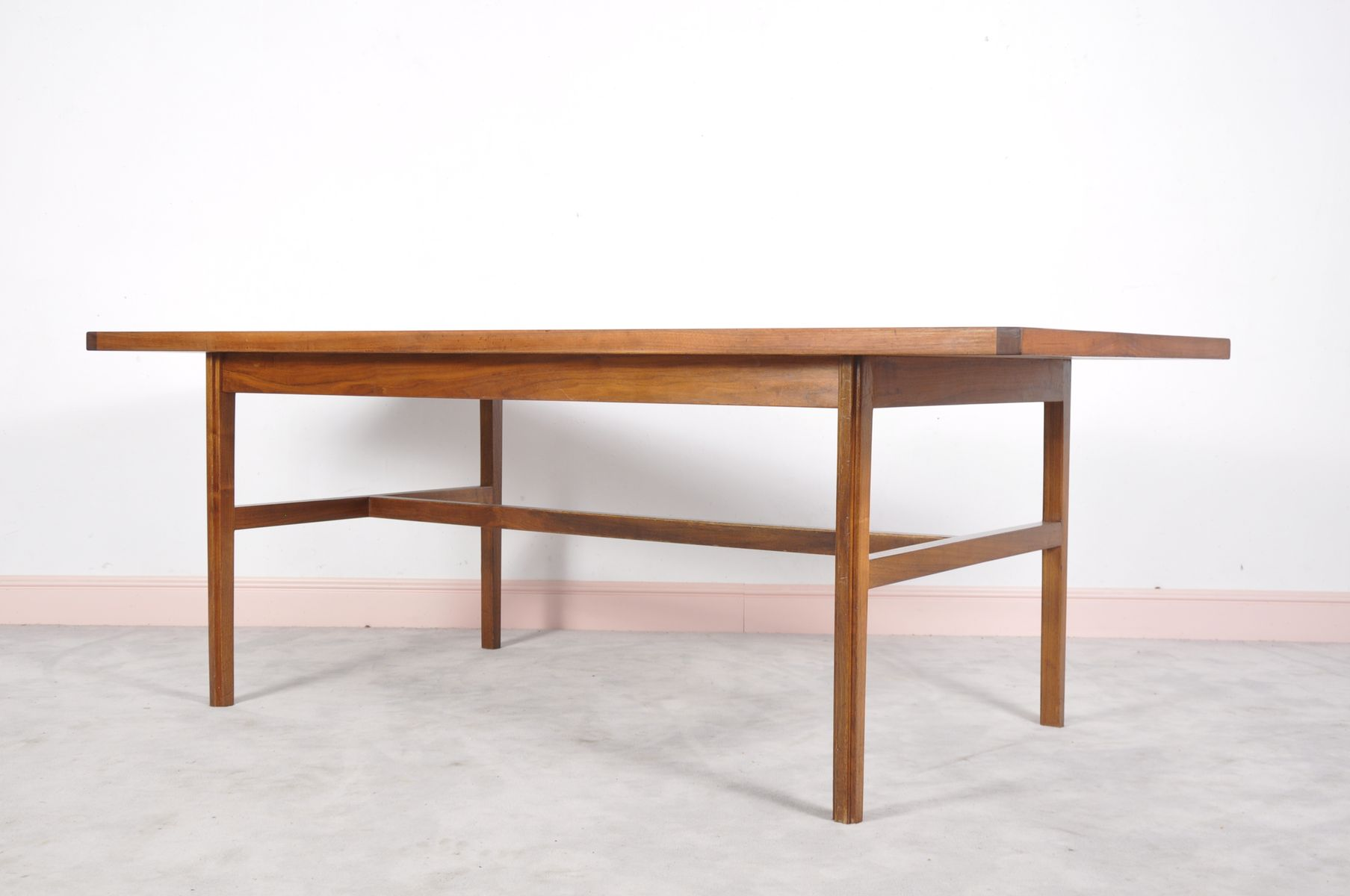 Mid century dining table - Mid Century Dining Table By Jens Risom For William Latchford Sons