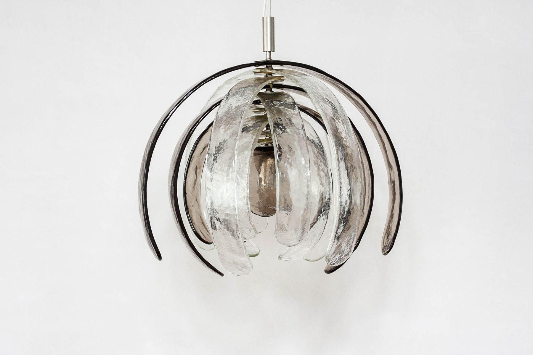 italian pendant lighting. midcentury italian artichoke pendant light by carlo nason for mazzega 1960s lighting