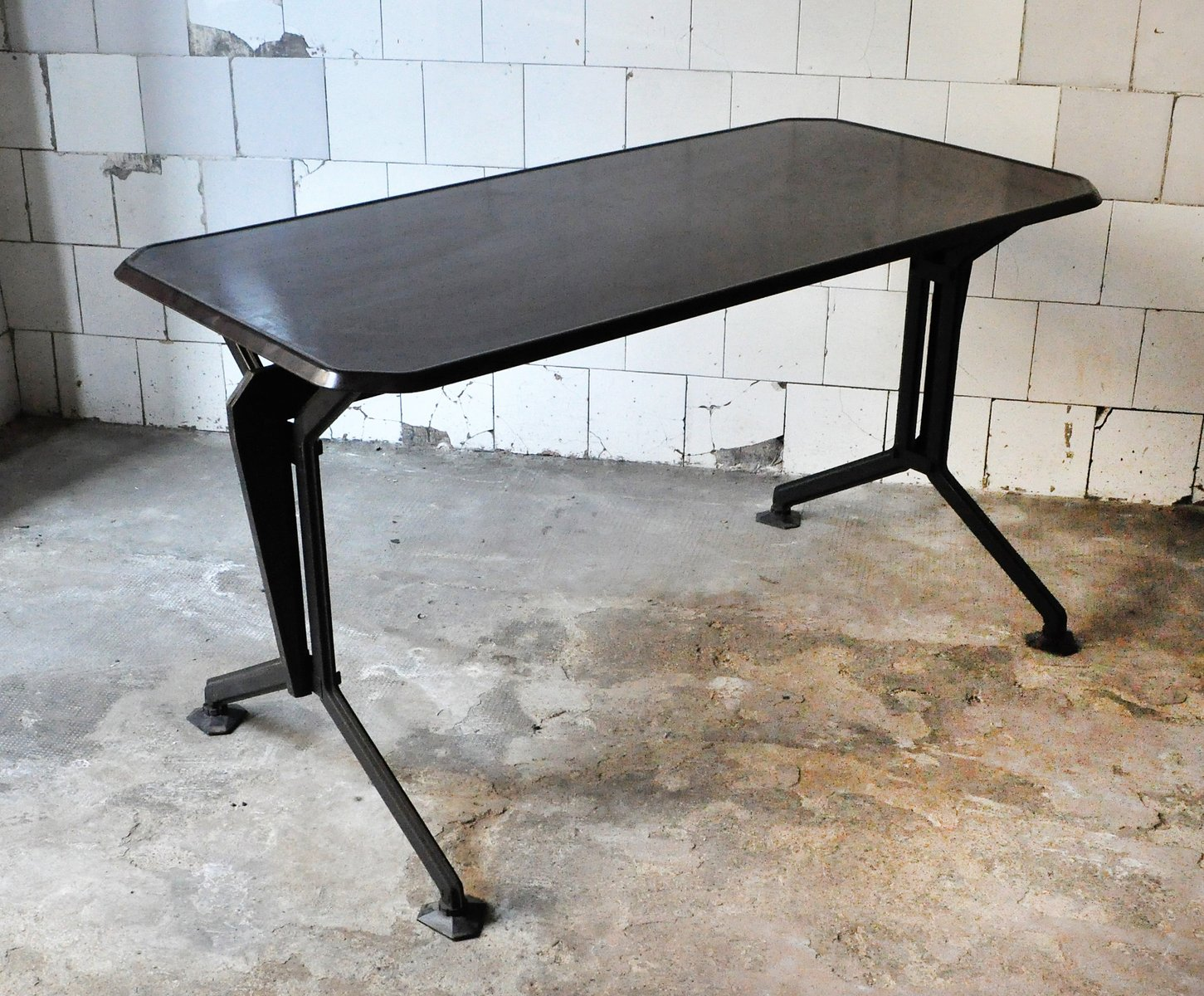 Mid Century Italian Arco Desk By BBPR For Olivetti Synthesis, 1960s
