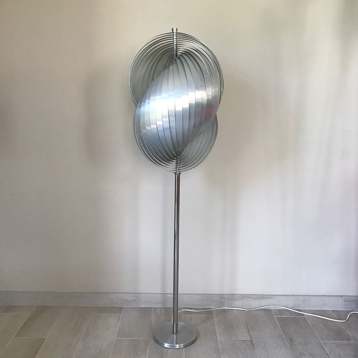 Floor lamp by henri mathieu 1970s for sale at pamono for 1970s floor lamps