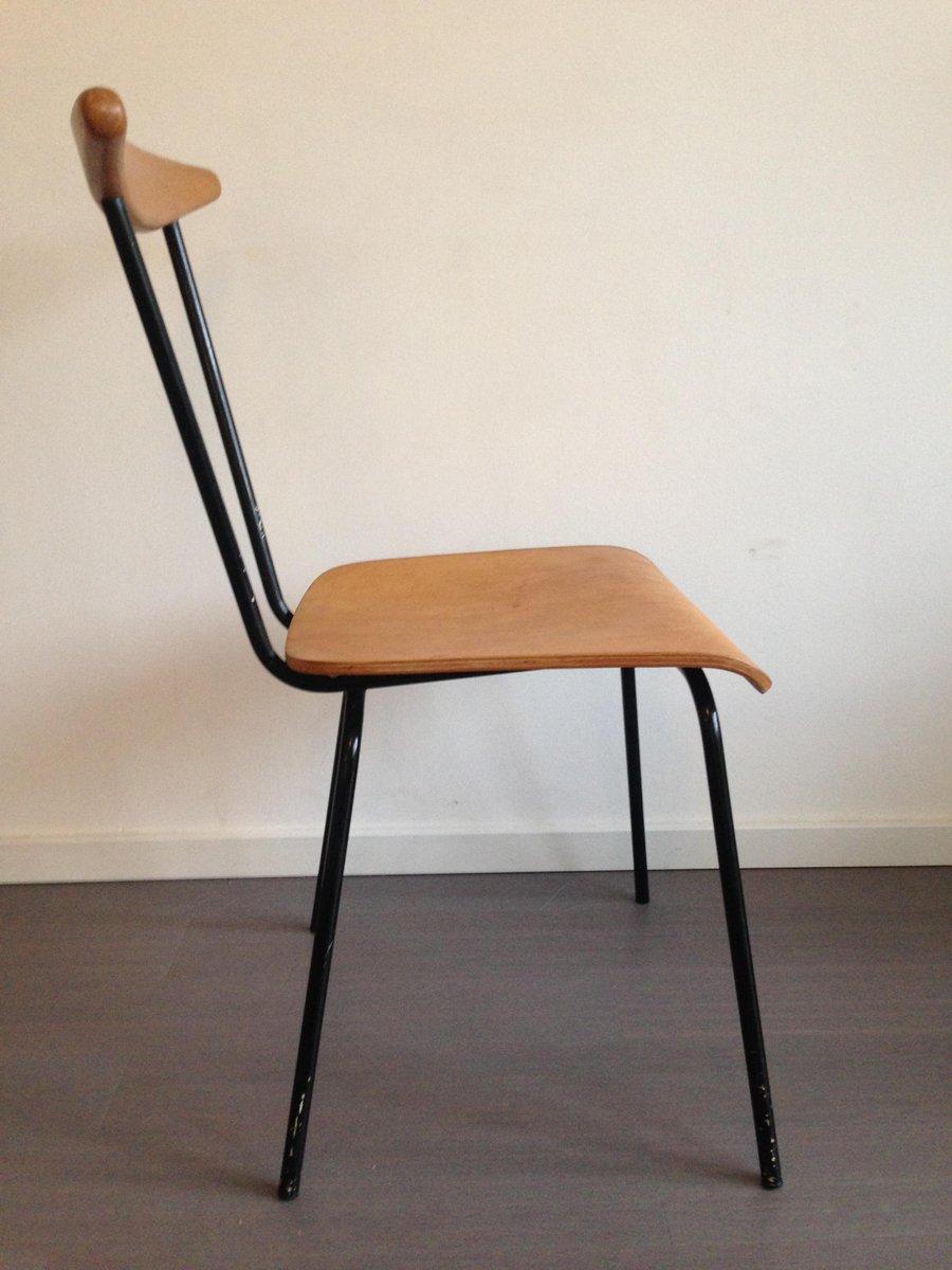 niederl ndischer dress boy stuhl von wim rietveld f r auping 1950er bei pamono kaufen. Black Bedroom Furniture Sets. Home Design Ideas