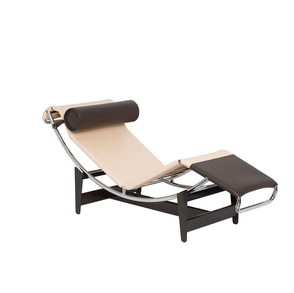 Lc4 cp limited edition chaise lounge by le corbusier for Chaise corbusier