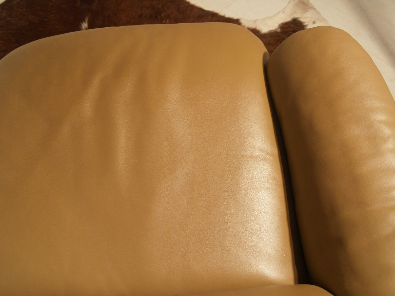Vintage Leather Three Seater Sofa From De Sede For Sale At