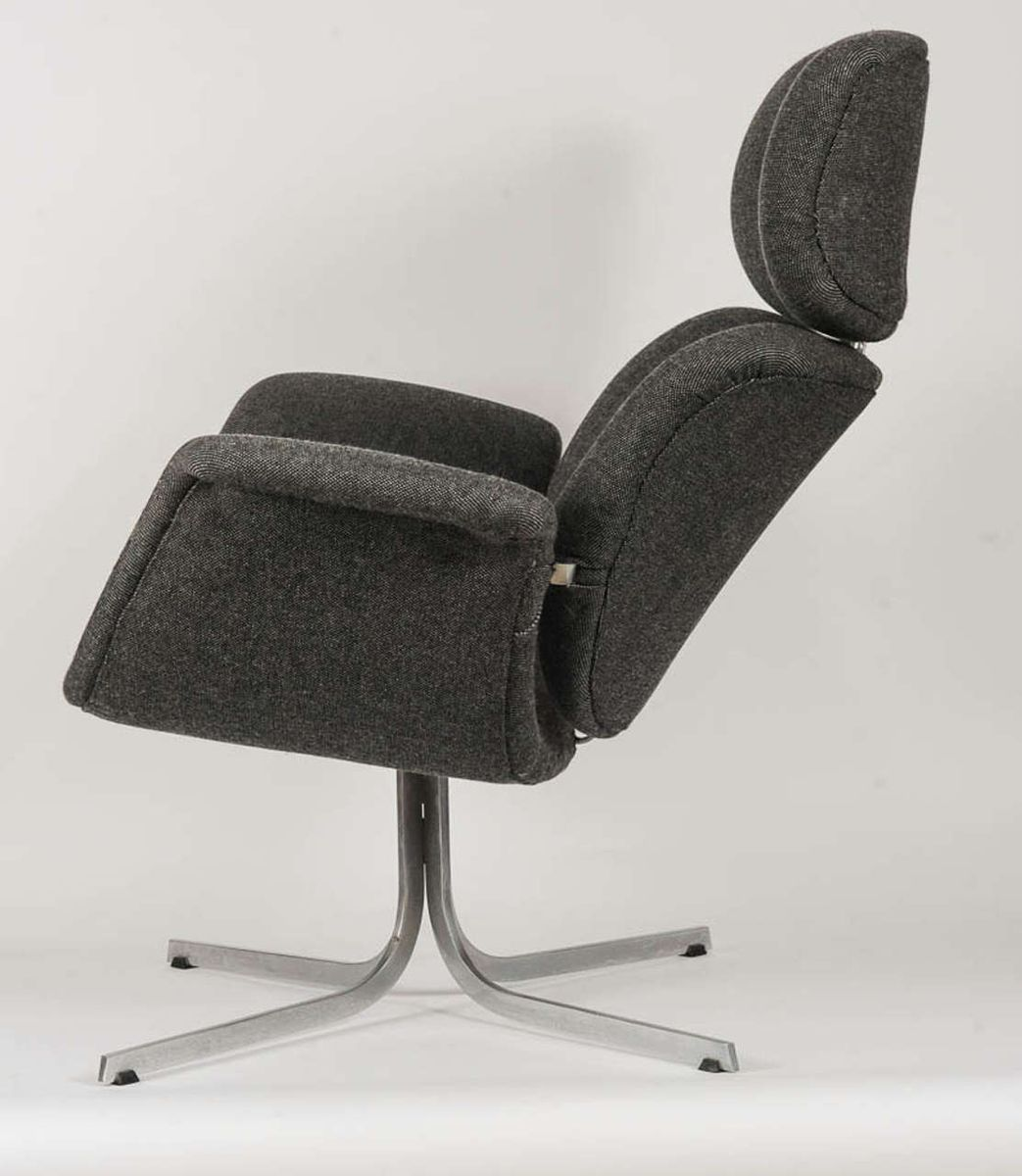 Vintage Tulip Lounge Chair by Pierre Paulin for Artifort for sale at Pa