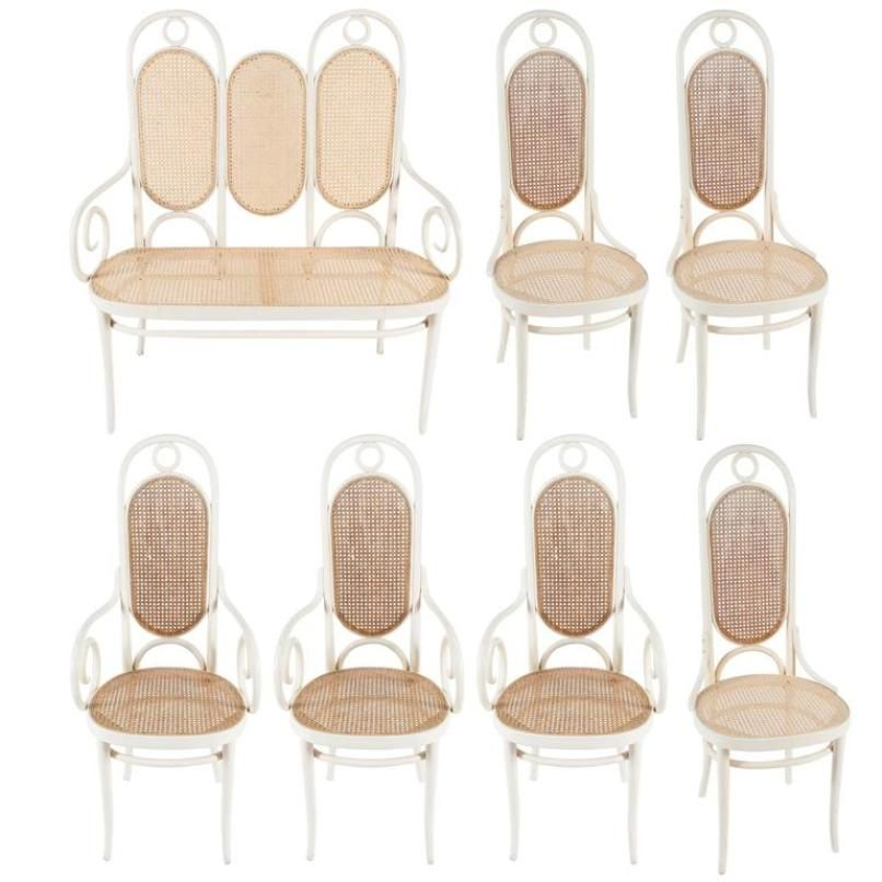 Antique Thonet Chairs For Sale Vintage Chair Cane Cafe Thonet