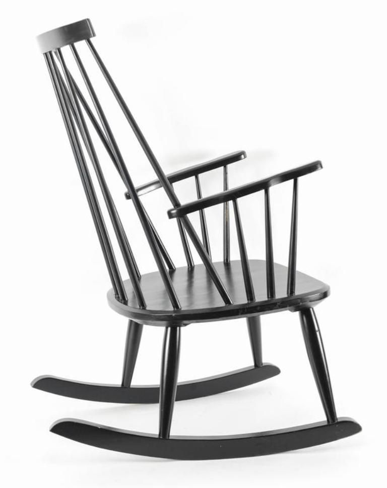 Vintage Swedish Rocking Chair By Lena Larsson For Nesto Sale