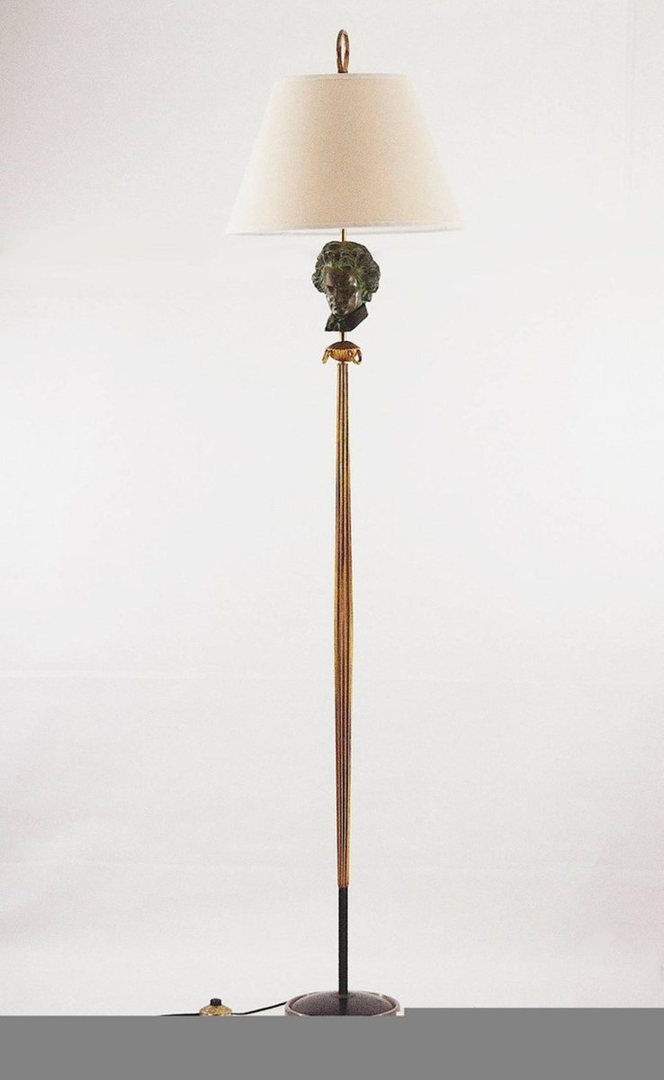 Beethoven floor lamp 1950s for sale at pamono for 8 floor lamp