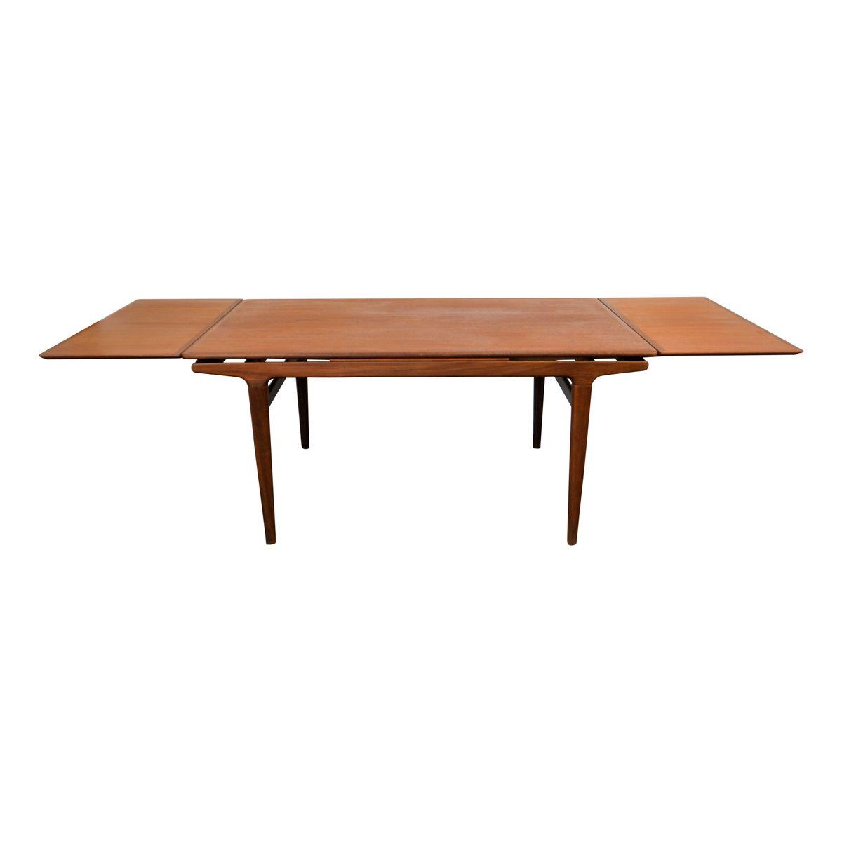 Vintage Teak Exendable Dining Table by Johannes Andersen  : vintage teak exendable dining table by johannes andersen for uldum mobelfabrik 5 from www.pamono.co.uk size 1200 x 1200 jpeg 25kB