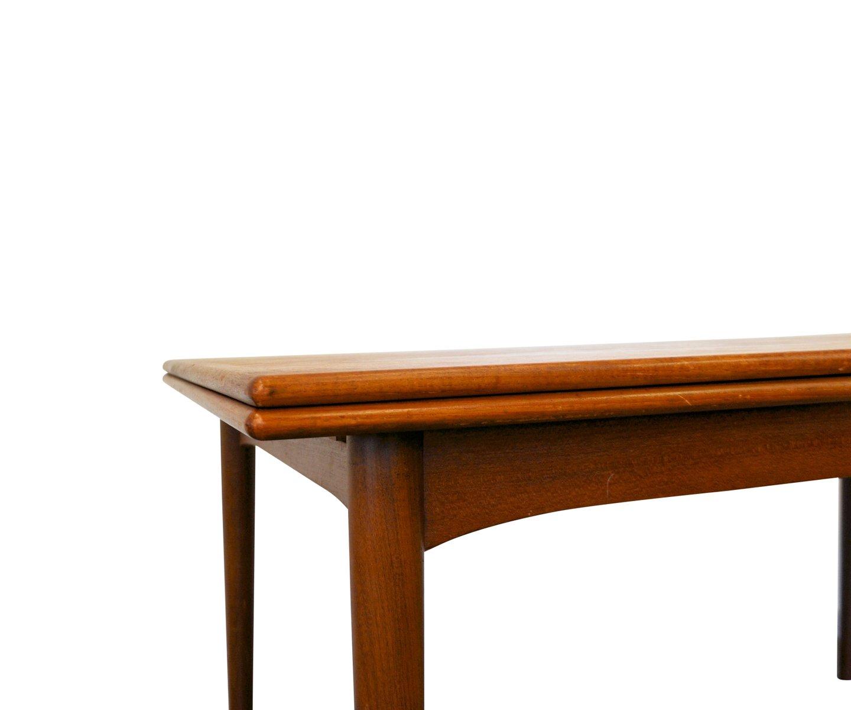 Vintage Danish Extendable Teak Dining Table for sale at Pamono : vintage danish extendable teak dining table 3 from www.pamono.com.au size 1440 x 1200 jpeg 53kB