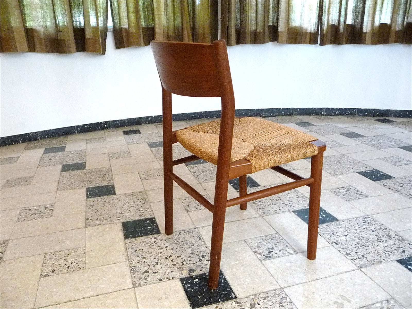 Teak Chair danish 157 teak chairbørge mogensen for søborg møbler, 1950s