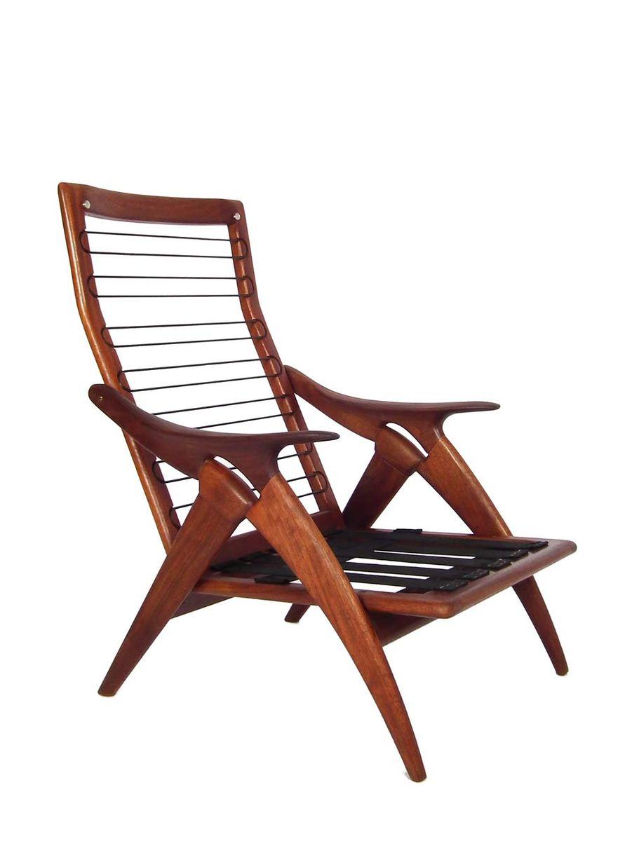 mid century sessel von de ster gelderland bei pamono kaufen. Black Bedroom Furniture Sets. Home Design Ideas