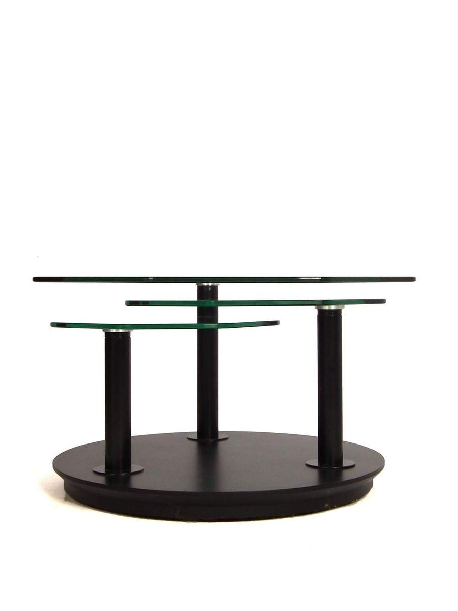 Glass coffee table 1980s for sale at pamono for Glass coffee tables for sale