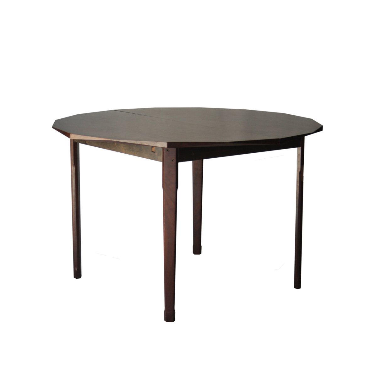 Extensible geometric dining table 1950s for sale at pamono for Table extensible