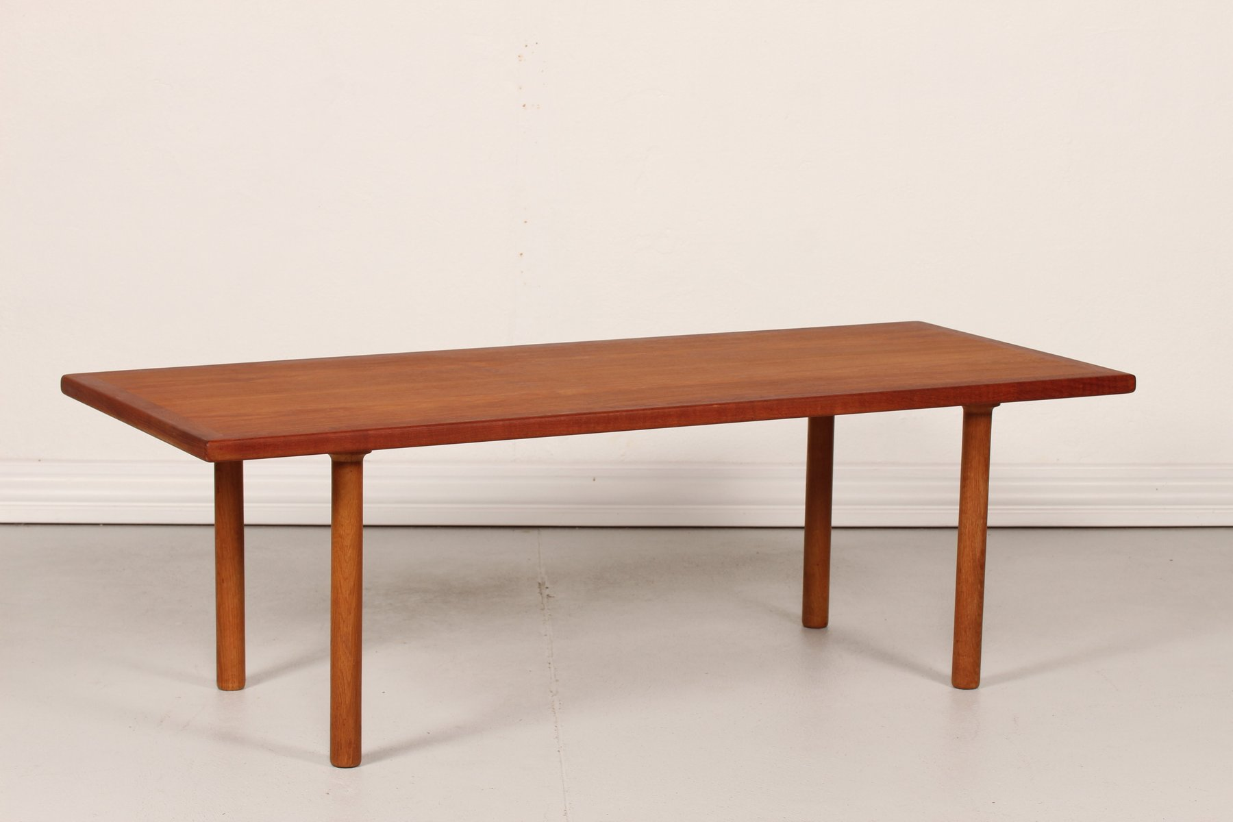 Vintage AT 12 Coffee Table by Hans J Wegner for Andreas Tuck for