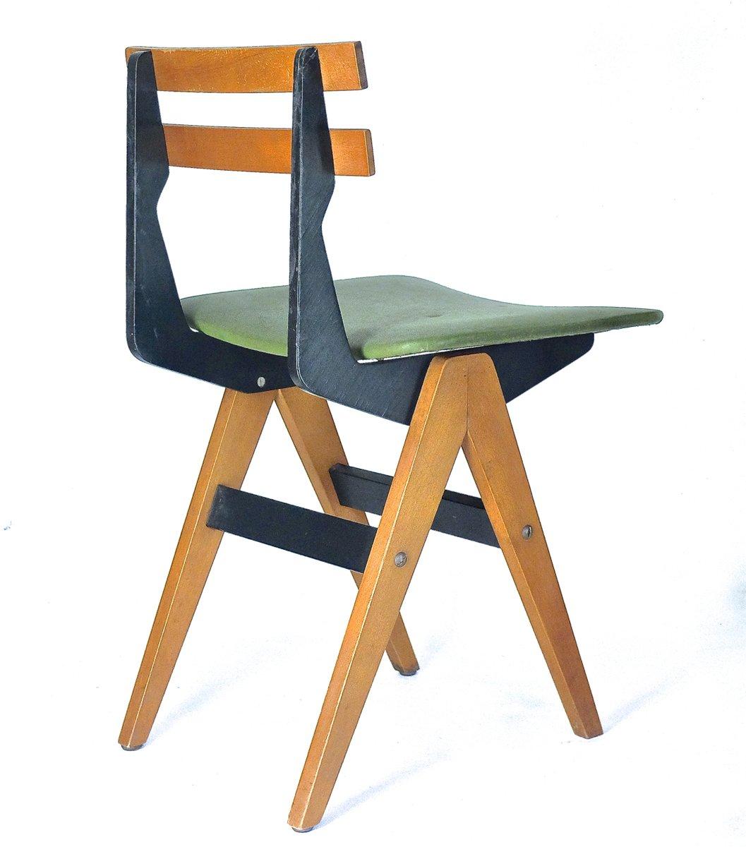 kinderschreibtisch stuhl von fratelli reguitti 1955. Black Bedroom Furniture Sets. Home Design Ideas