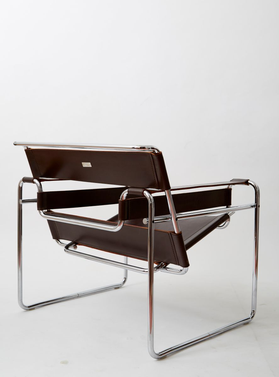 Marcel breuer wassily chair - B3 Wassily Chair By Marcel Breuer For Gavina