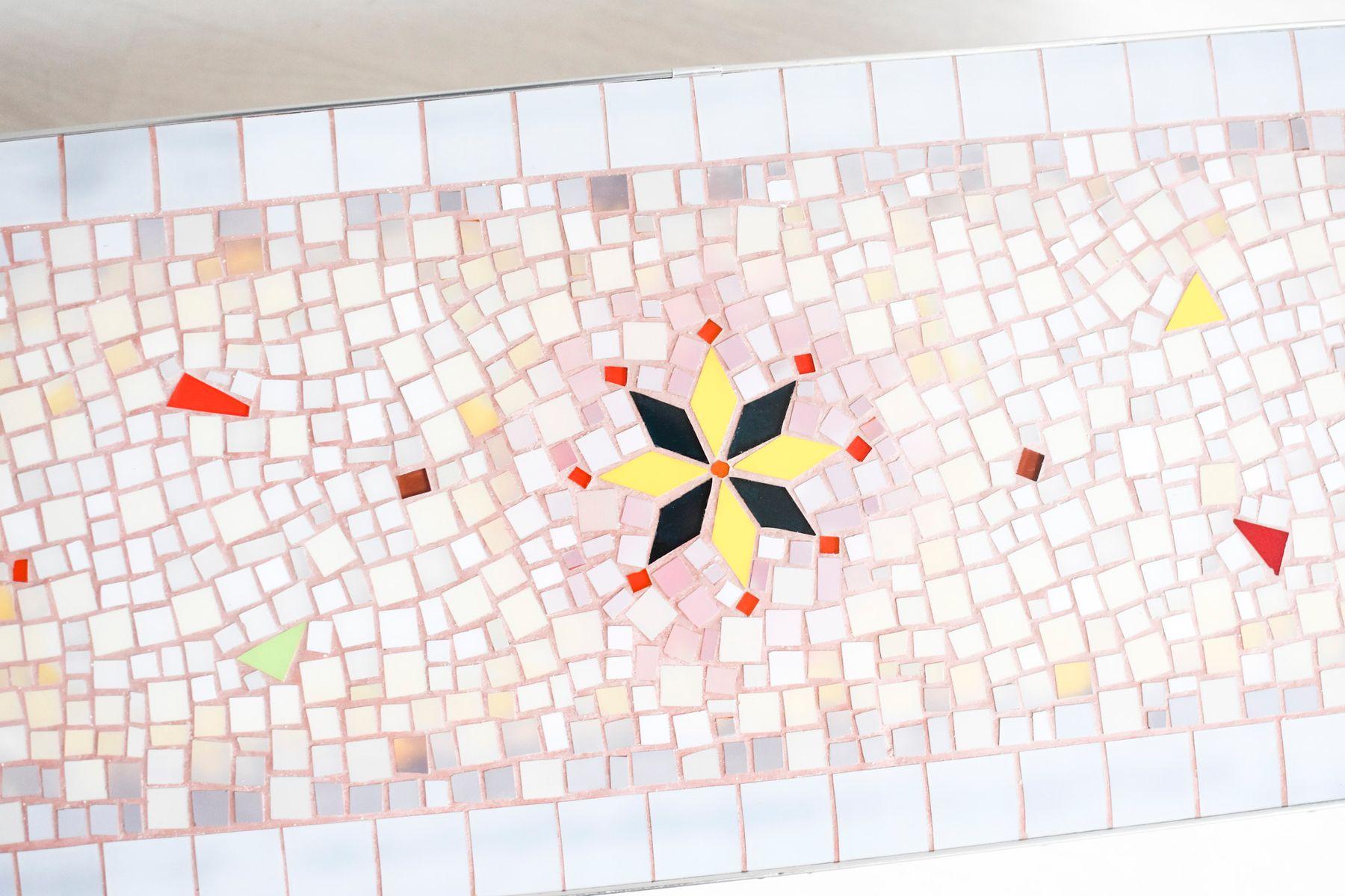 Mosaik Couchtisch, 1960er bei Pamono kaufen