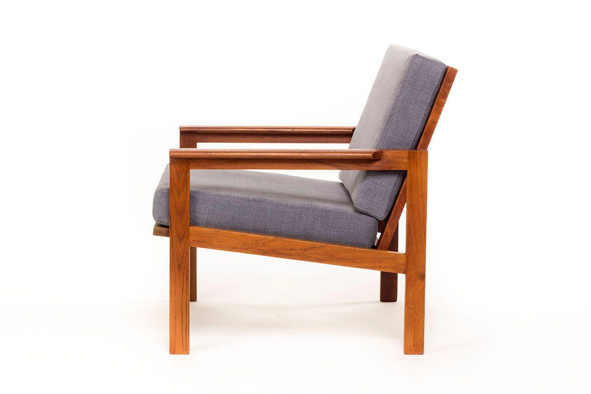 D nischer mid century capella stuhl aus teak von illum wikkelso f r n eilersen bei pamono kaufen - Mid century stuhl ...