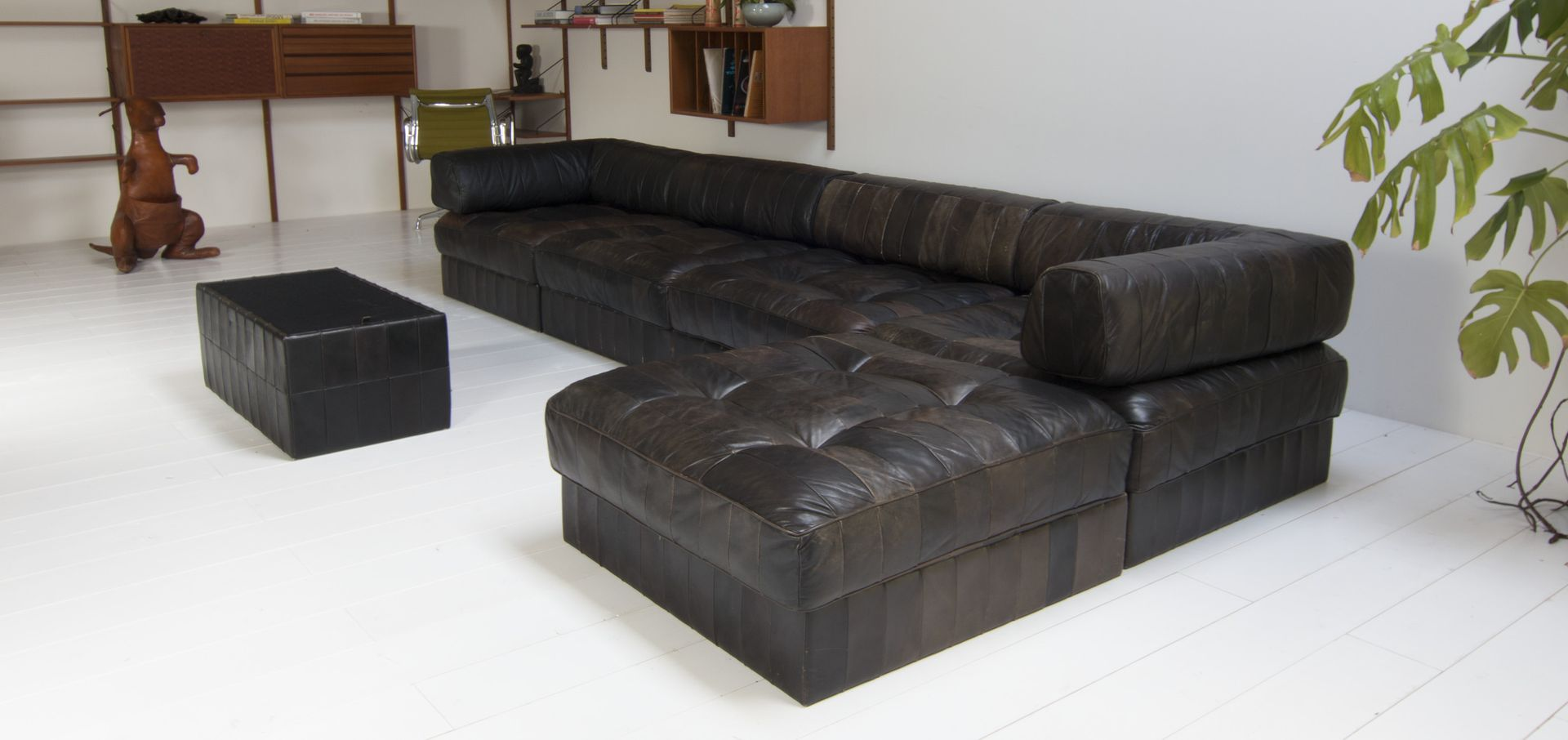 sechsteiliges ds 88 patchwork sofa von de sede 1979 bei pamono kaufen. Black Bedroom Furniture Sets. Home Design Ideas