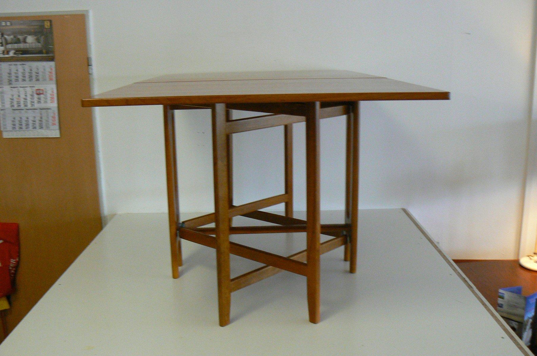 Vintage Folding Teak Dining Table by Bendt Winge for  : vintage folding teak dining table by bendt winge for kleppe mobelfabrikk 1 from www.pamono.com size 1807 x 1200 jpeg 141kB