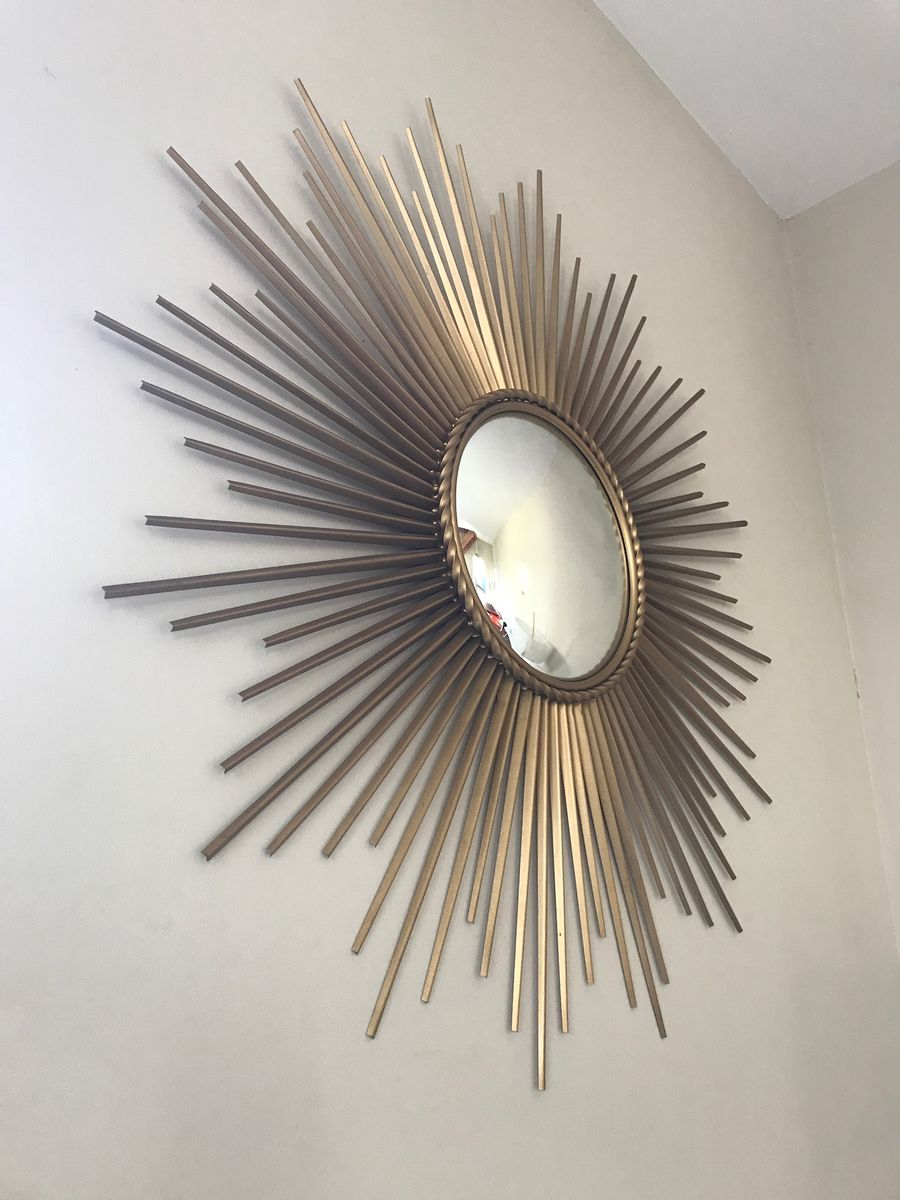 Large mirror by chaty vallauris 1960s for sale at pamono for Chaty vallauris miroir