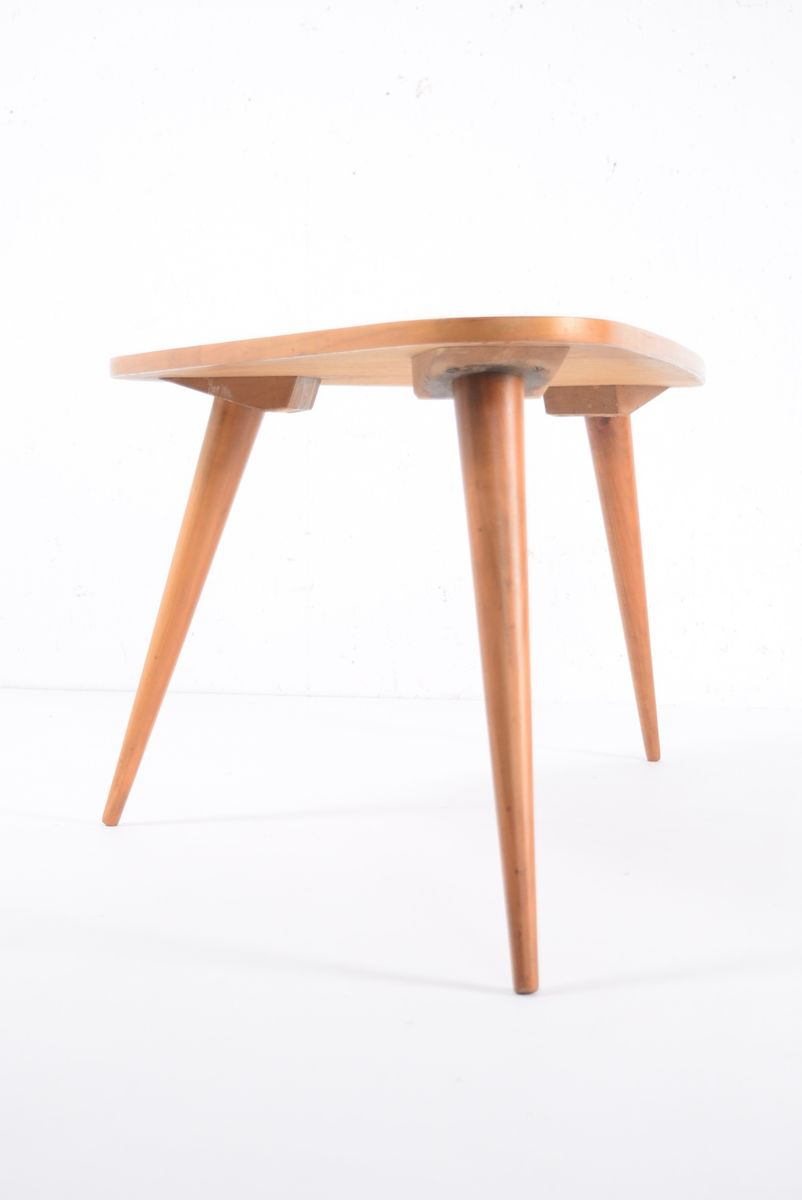 Mid Century Triangular Coffee Table For Sale At Pamono
