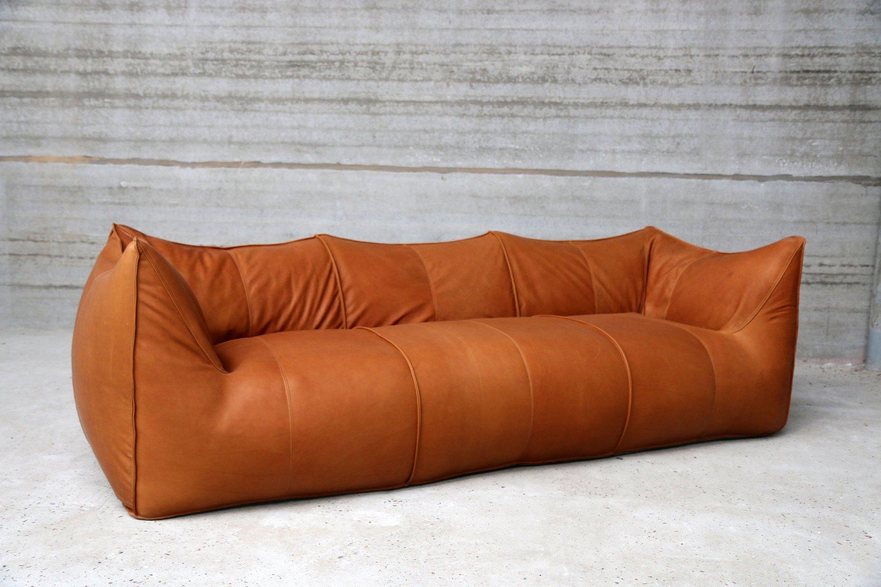 Vintage Le Bambole Three Seater Sofa By Mario Bellini For B Italia