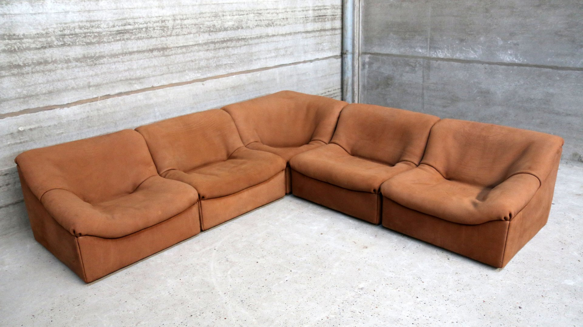 DS 46 Modular Corner Sofa from de Sede 1970s for sale at Pamono